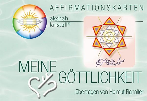 Affirmationskarten Meine Göttlichkeit erkennen