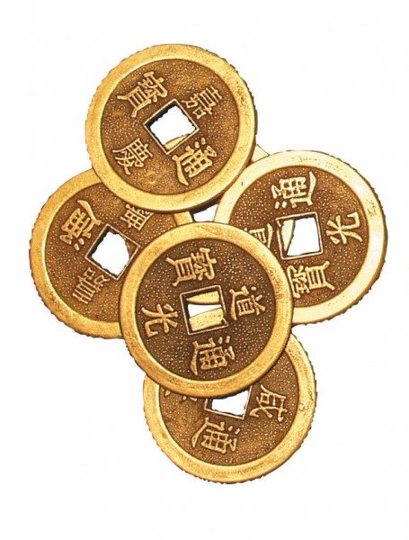 Chines. Münze einzeln 4cm