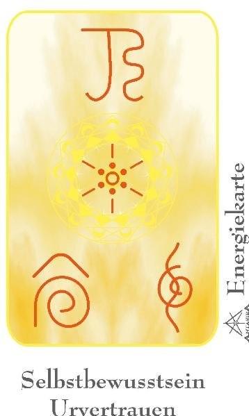 """Energie - Symbolkarte """"Selbstbewusstsein & Urvertrauen"""""""