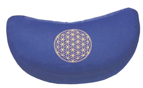 """Meditationskissen mit Inlet """"BDL"""" Baumwolle(80%), Polyester(20%) blau"""