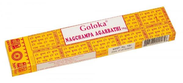 "Goloka Incense ""Nag Champa"" 16gr."